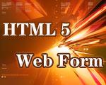 使用HTML5构建下一代的Web Form